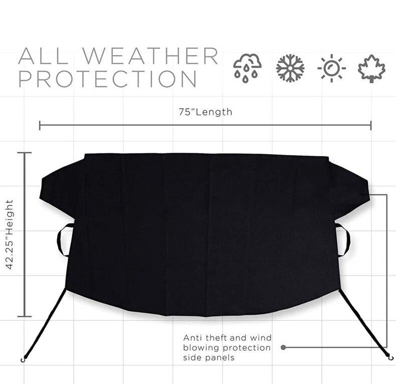 Shield-Tec™ Multi-Purpose Windshield Protection Cover For Any Type Of Weather On Even The Harshest Winters!