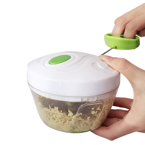 Image of BOCO™ Hand-Power Food Chopper & Meat Grinder