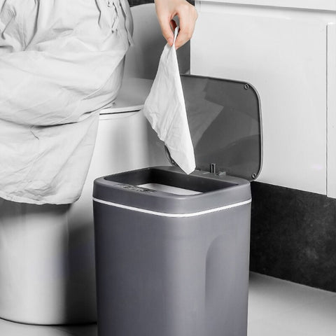 GenCan™ USB Charging Smart Trash Can For A Clean Disposal Without The Germ Transfer