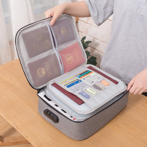 Image of ABCSafe™ Document Organizer Briefcase - Special Price