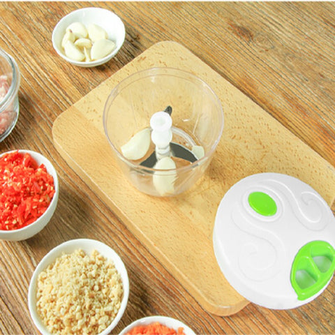 BOCO™ Hand-Power Food Chopper & Meat Grinder
