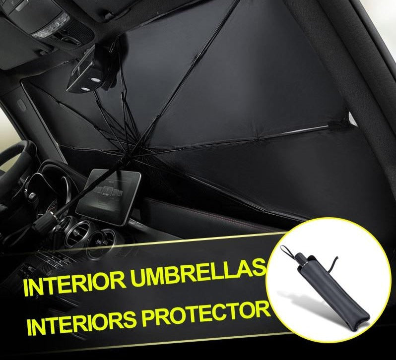 SunWall™ - Retractable Windshield Sunshade To Protect Car Interior & Block Harmful UV Rays