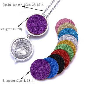 Replacement Pads For Necklace With Essential Oil Aromatherapy Locket*