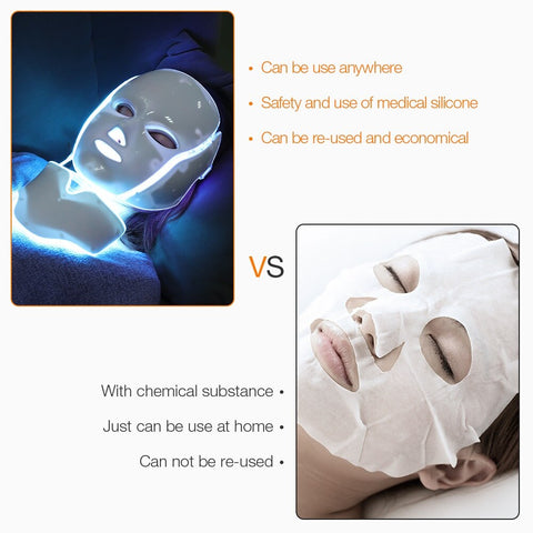 Image of BeautyWithin™ - LED Photon Face & Neck Mask For An In-Home Spa Treatment To Revitalize Your Skin