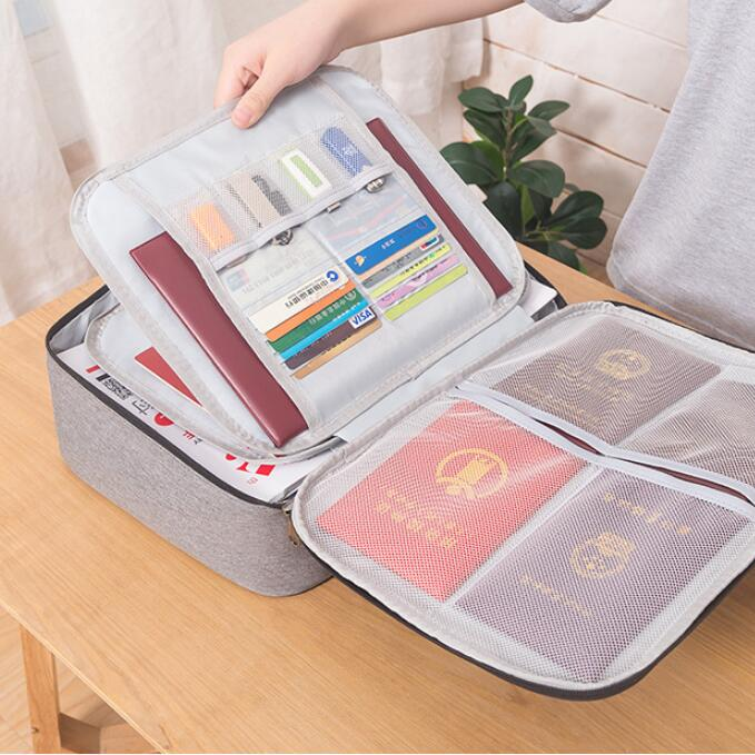 ABCSafe™ Document Organizer Briefcase - Special Price