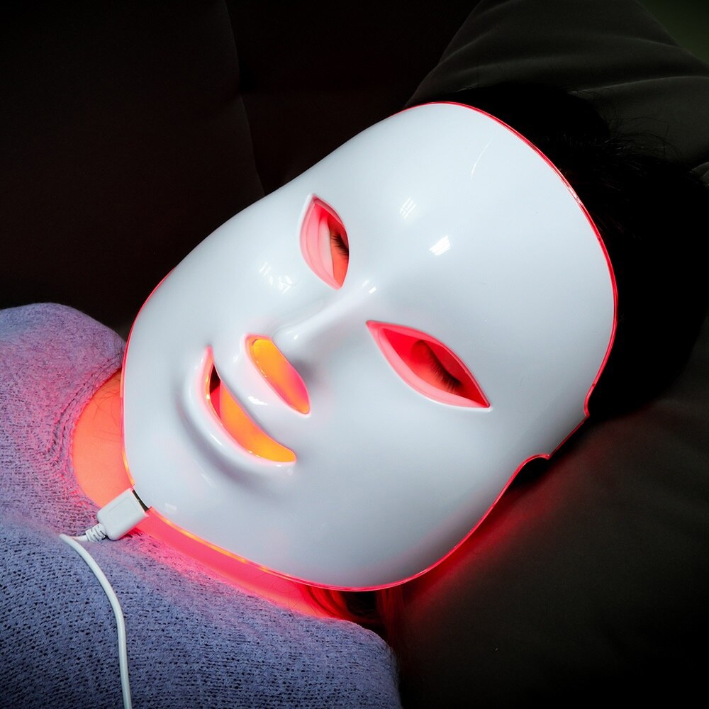 LED Photon Face & Neck Mask