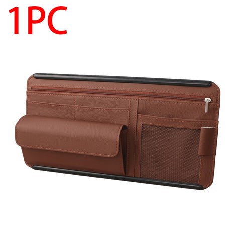 Image of RYDER™ Car Sun Visor Storage Organizer - Special Price