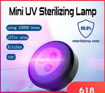 Portable Mini UV Sterilizing Lamp