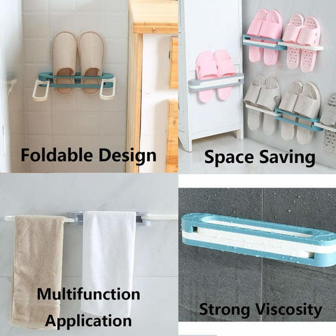 Image of Multifunctional Slippers Storage Rack - Special Price