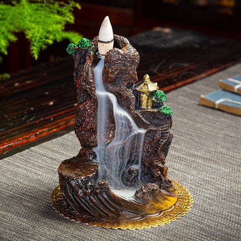 Image of Ceramic Backflow Incense Burner