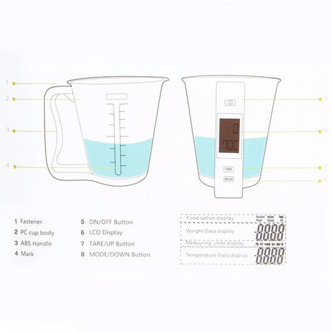 Image of AcuCup™ - Digital Measuring Cup