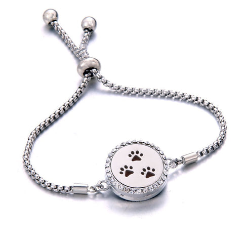 Image of Bella™ Bracelet With Essential Oil Aromatherapy Locket