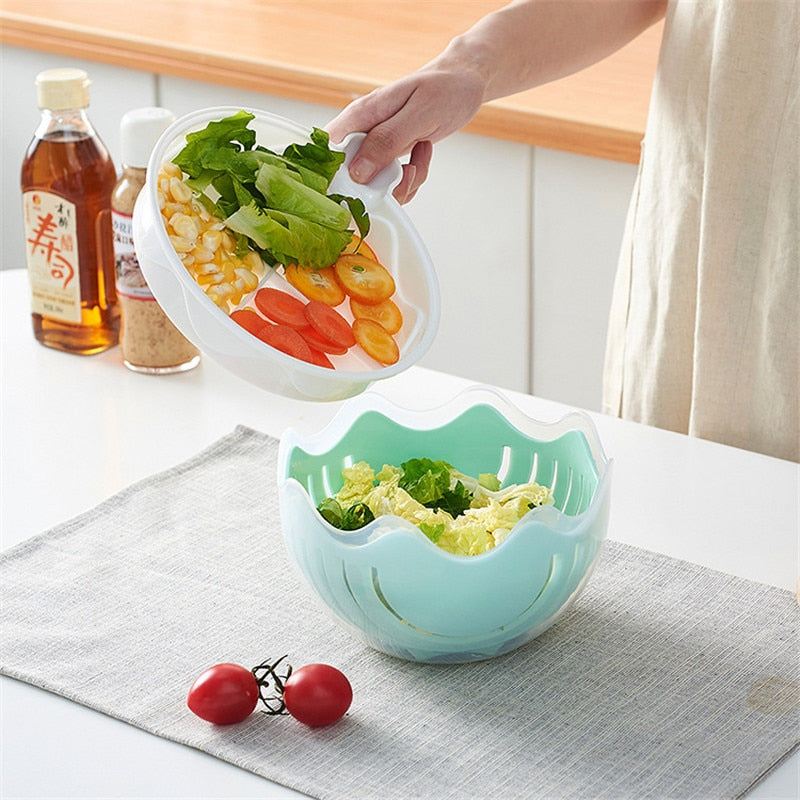 60 Second Salad Cutter Bowl [FREE SHIPPING]