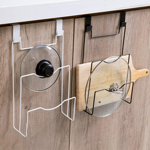 Image of Colgar™ - Hanging Lid Holder To Mount Your Big Kitchen Items And Keep Your Kitchen Nicely Organized