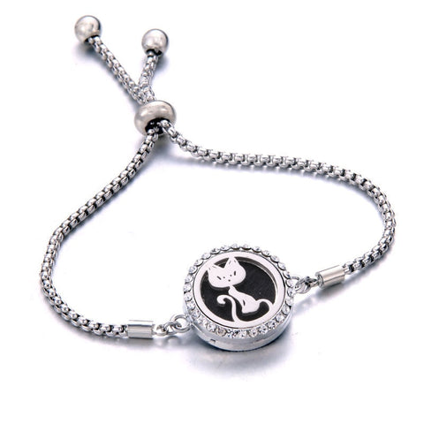 Image of Bella™ Bracelet With Essential Oil Aromatherapy Locket*