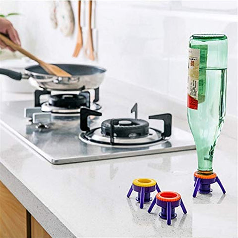 6Pcs Reverse Bottle Stand Cap - Special Price
