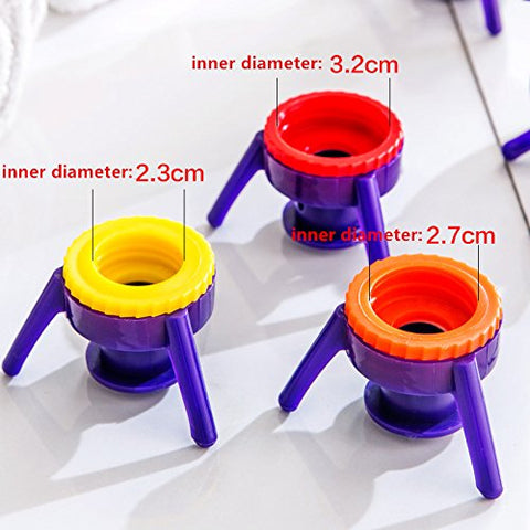 6Pcs Reverse Bottle Stand Cap