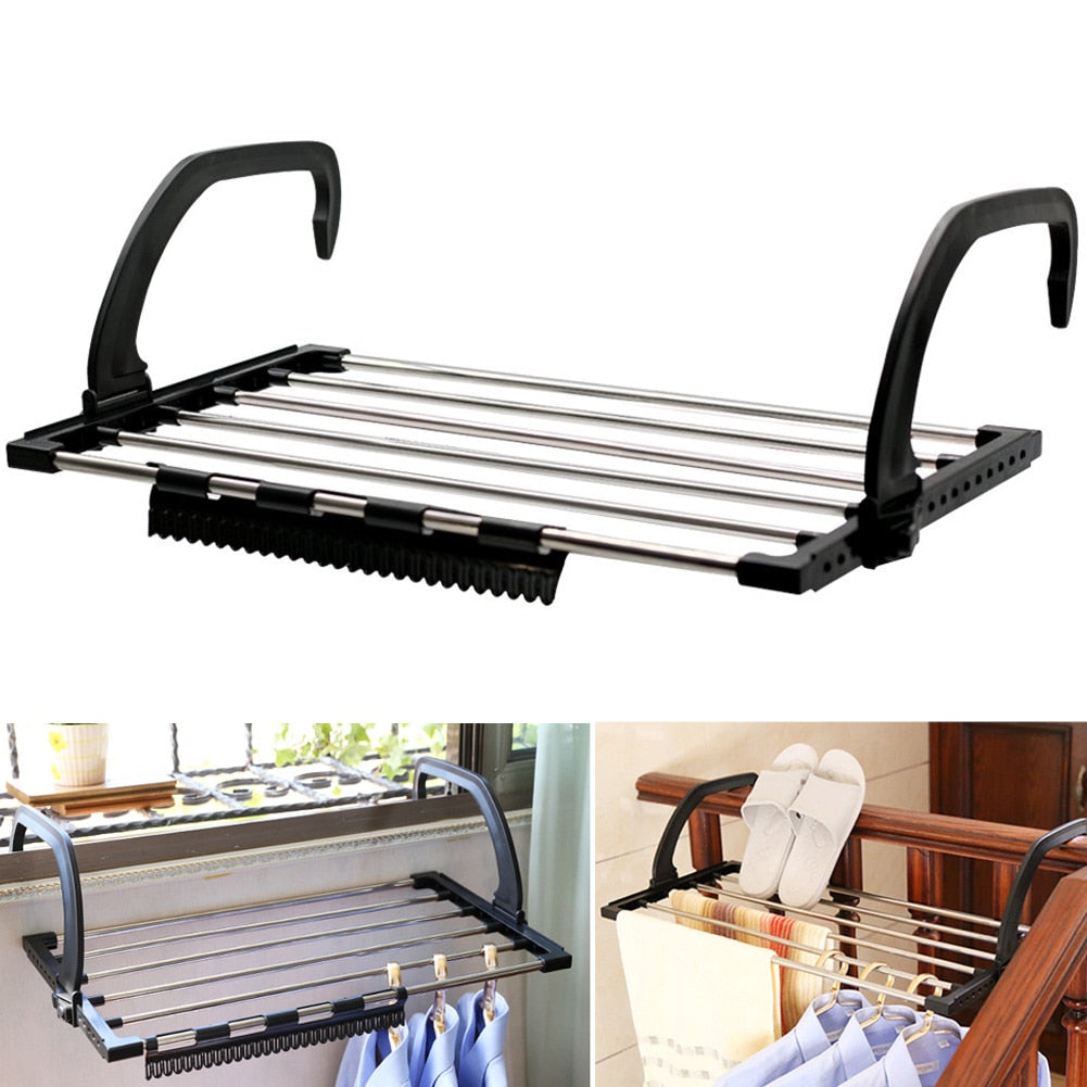 MiniRack™ Foldable Space-Saving Drying Rack For Your Laundry Needs In A Small Space