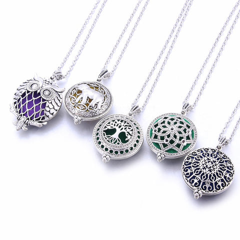 Image of Replacement Pads For Necklace With Essential Oil Aromatherapy Locket*