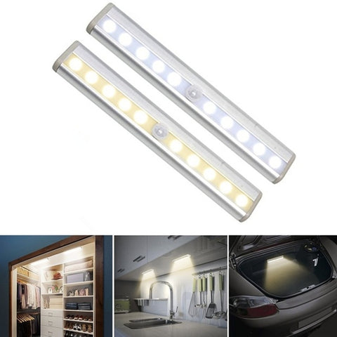 BriteNite™ Motion Sensor & Wireless LED Night Lights (2pc Set)