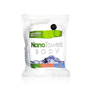 Ultimate Shower Kit (1 x Full Body NanoTowel + 1 x Hair Dry Wrap)