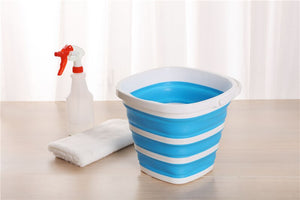 Collapsible Silicone Bucket