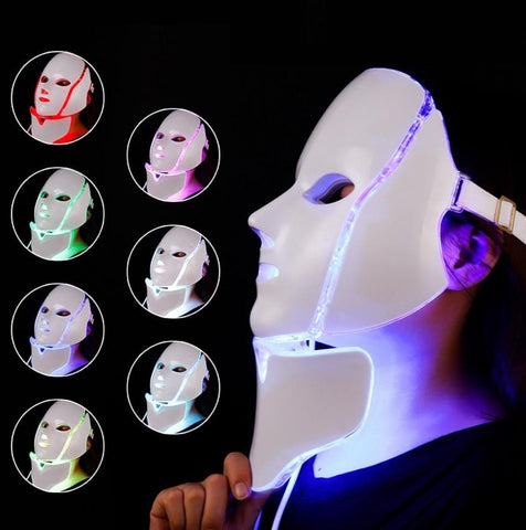 BeautyWithin™ - LED Photon Face & Neck Mask For An In-Home Spa Treatment To Revitalize Your Skin