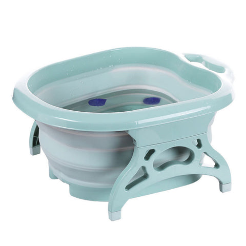 LuckyFeet™ Collapsible Foot Bath Basin With Massage Roller - Special Price