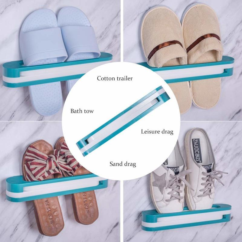 Multifunctional Slippers Storage Rack - Special Price