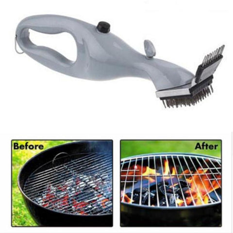 Image of GrillDaddy™ - Steam BBQ Grill Cleaning Brush