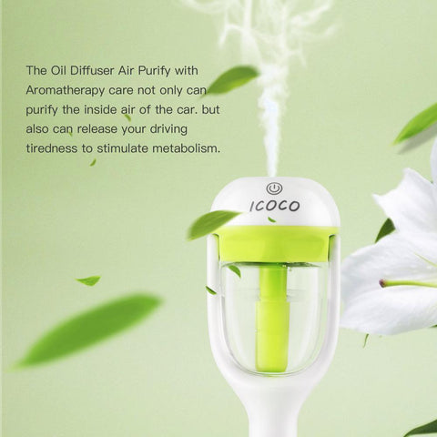 Image of Mini Car Aromatic Humidifier*
