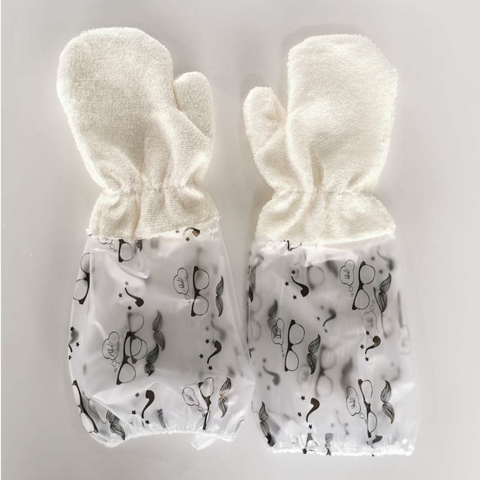 Image of Bamboo Fiber Dishwash Gloves - Special Price