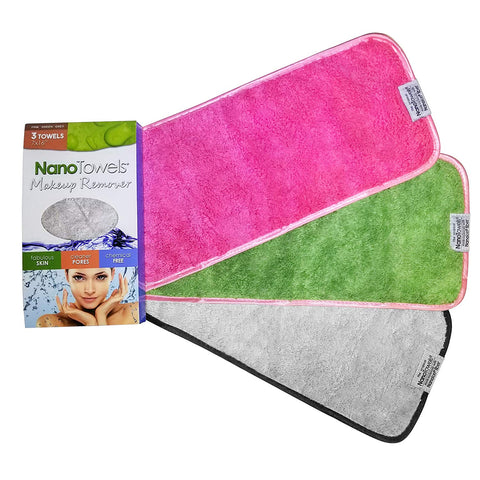 NanoTowel Makeup Remover [1-Pack & 3-in-1 Special]