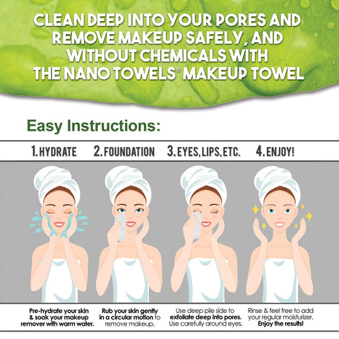 Image of NanoTowel Makeup Remover