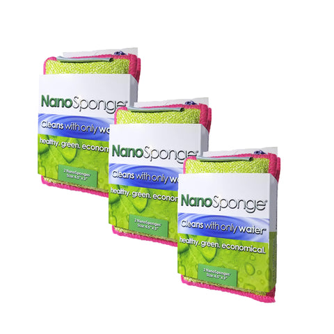 "Image of NanoSponge Mini (4.5"" x 3"") - 3 Pack Special*"
