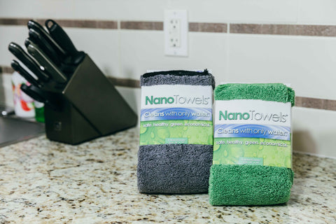 6-Pack NanoTowel (3x Green + 3x Grey)
