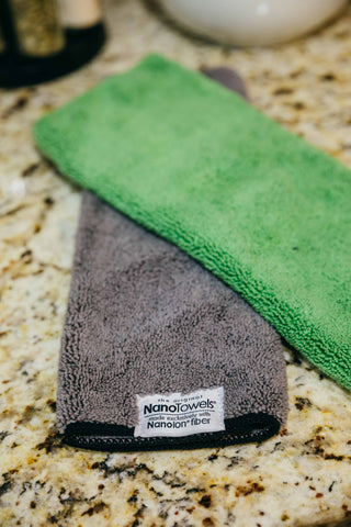 2-Pack NanoTowel (Green + Grey)
