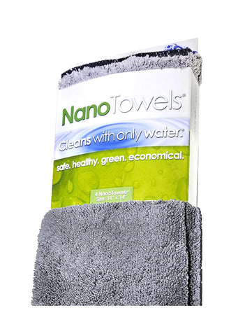 Grey NanoTowels [Two-Pack Special]