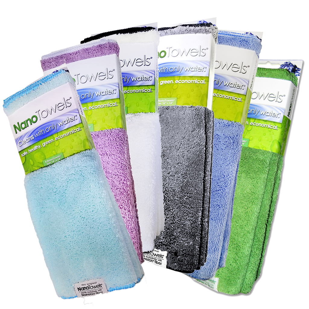 [NEW] NanoTowels® Rainbow 6 Pack - Special Price 50% OFF