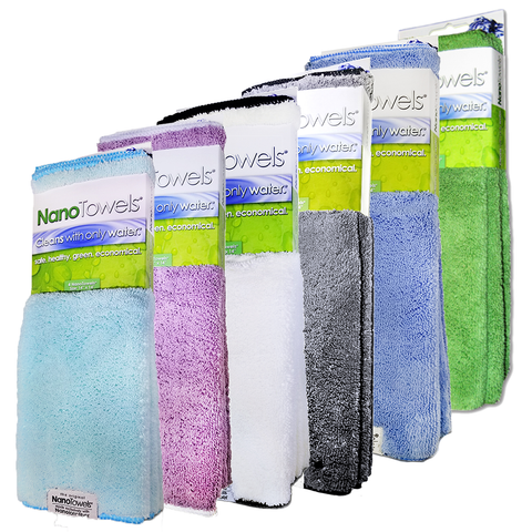 Image of [NEW] NanoTowels Rainbow 6 Pack - Special Price 50% OFF