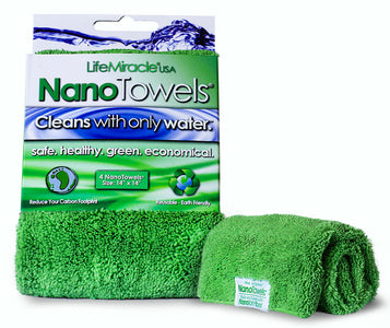 NanoTowels® - A Revolutionary Piece Of Fabric That Replaces Expensive Paper Towels And Toxic Chemical Cleaners