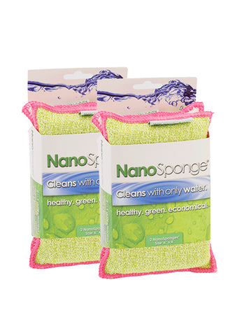 "NanoSponge 2-Packs (6"" x 4"")"