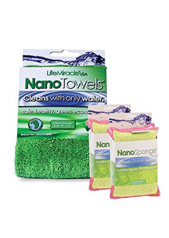NanoTowel x 1 + NanoSponges x 2 - Kitchen Pack