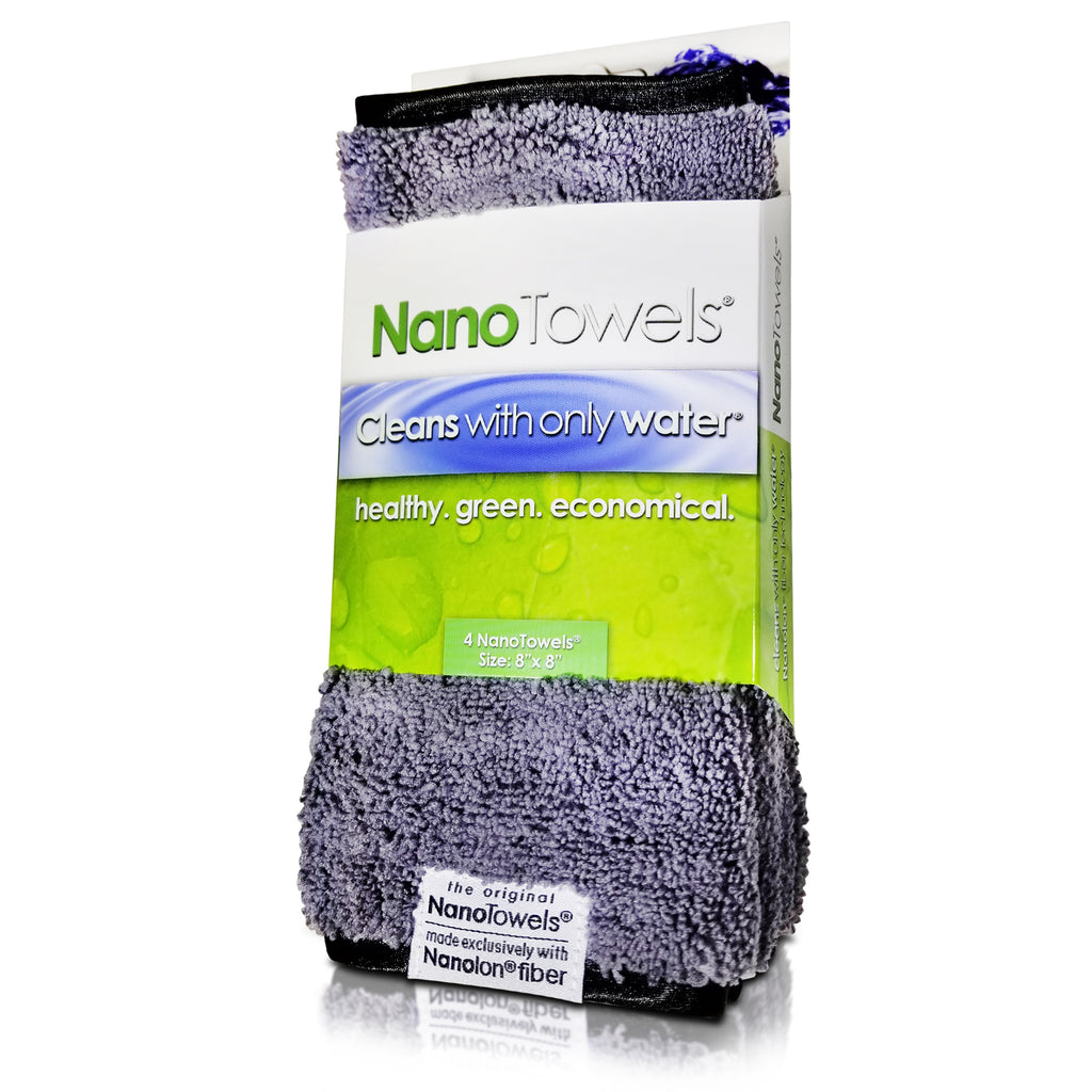 "[NEW LIMITED EDITION] Grey Mini NanoTowels® (8"" x 8"")"