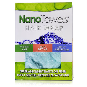 [NEW] SPECIAL EDITION - Aqua NanoTowel® Hair Drying Wrap Promotes Healthy Hair With Super Absorption