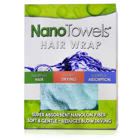 Image of [NEW] SPECIAL EDITION - Aqua NanoTowel® Hair Drying Wrap Promotes Healthy Hair With Super Absorption