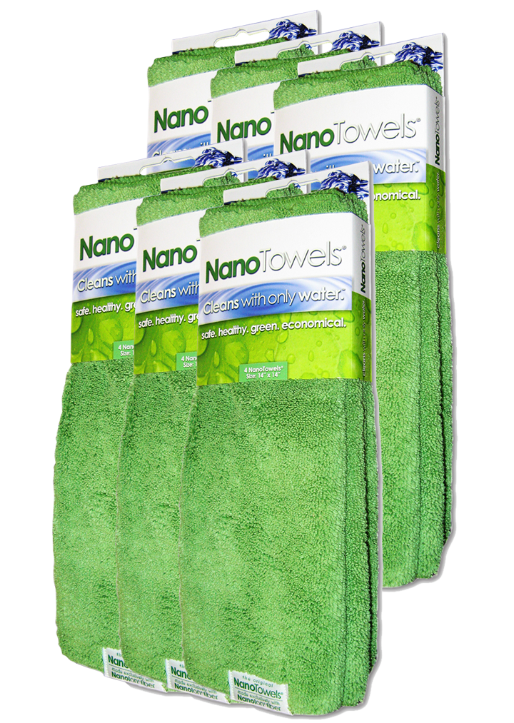 NanoTowels® (Six Pack.)