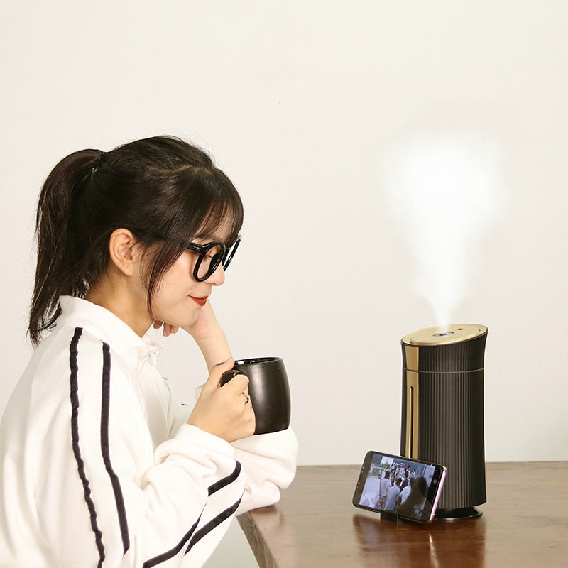 Ultrasonic LED Air Humidifier & Diffuser