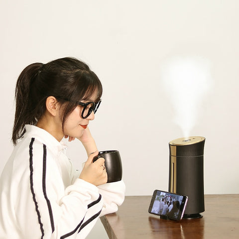 Image of Ultrasonic LED Air Humidifier & Diffuser
