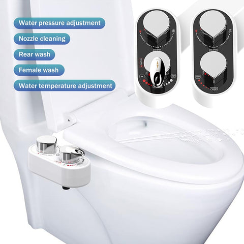 Image of Bidelli™ - Mechanical Bidet Toilet Attachment To Forever Replace Toilet Paper & Save You Money